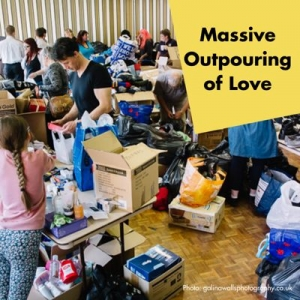 Massive Outpouring of Love